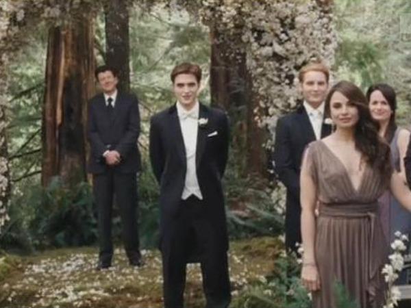 Edward veste fraque e se casa
