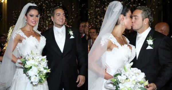 Cerimonia de casamento Belo e Gracyanne
