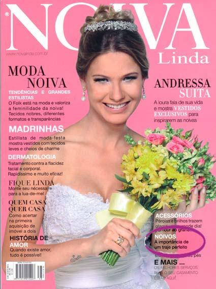Capa Revista Noiva Linda 38